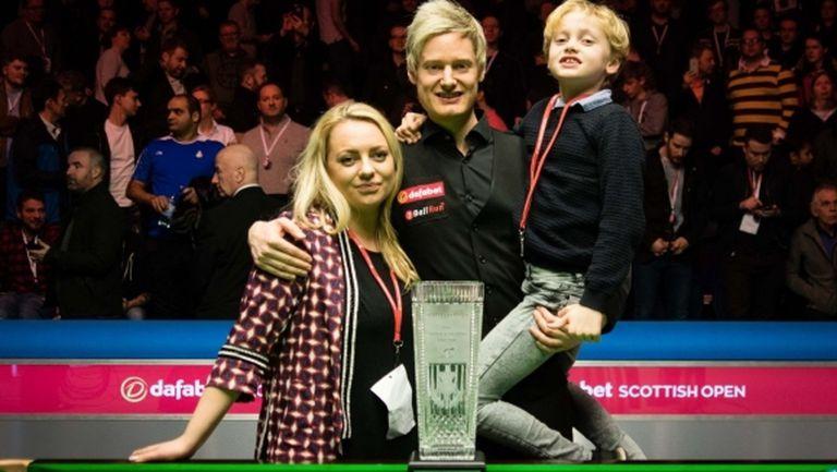 Робъртсън пристига в България като шампион на Scottish Open