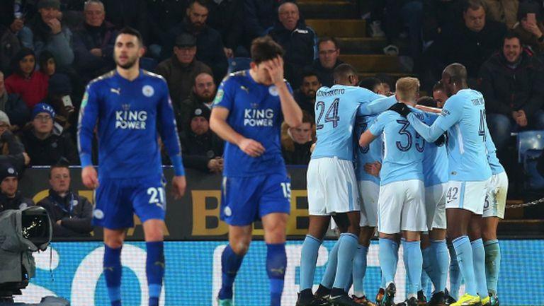 Манчестър Сити се промъкна на 1/2-финал след дузпи
