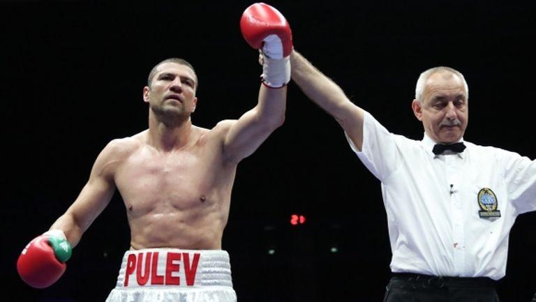 Тервел Пулев се готви за последния си мач за 2017-а