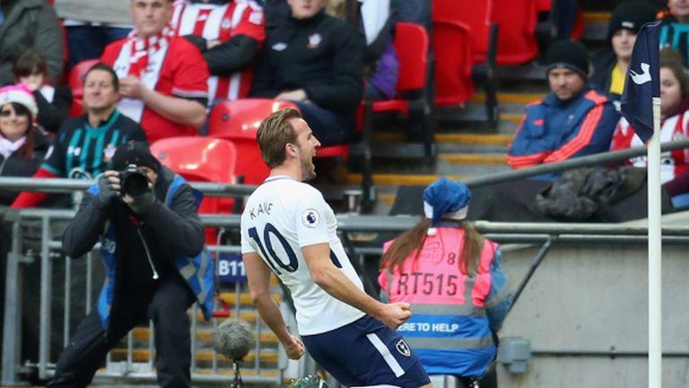Хари Кейн е най-резултатният футболист в Европа за 2017 г.