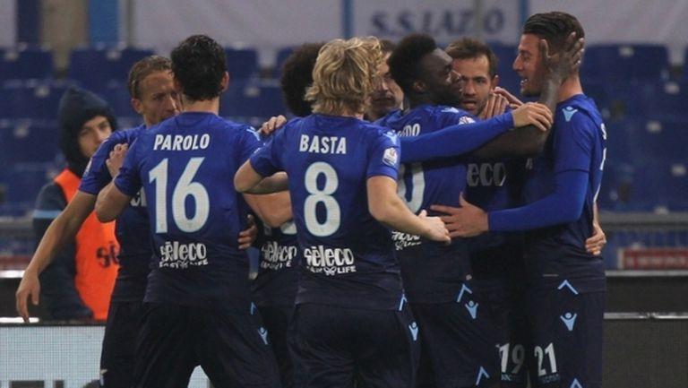 Лацио пречупи Фиорентина с ранен гол