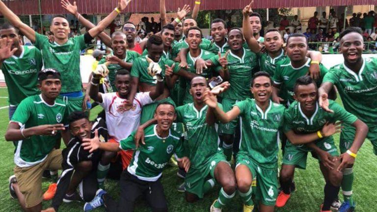 Африкански тим облече екипи на Лудогорец и стана шампион (снимки)