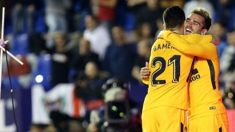 Гамейро донесе победа на Атлетико след изоставане с 0:2 (видео)