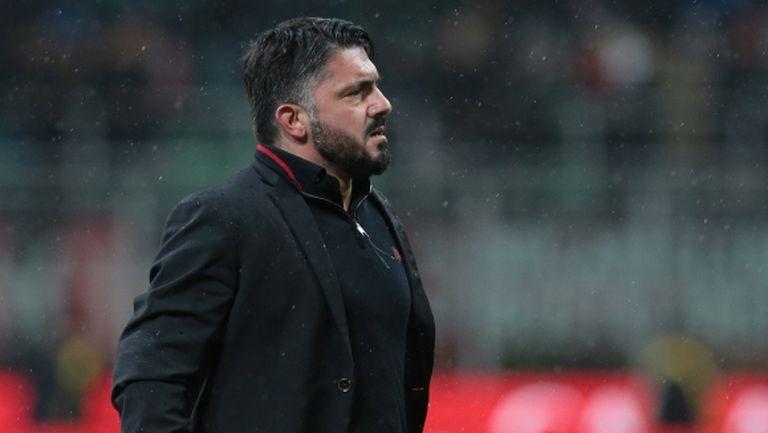 Гатузо видя напредък в играта на Милан