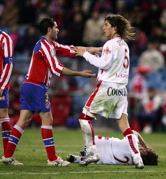 Серхио Рамос като футболист на Севиля