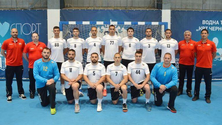 Мъжкият ни национален отбор се подготвя за добро представяне на IHF/EHF Trophy