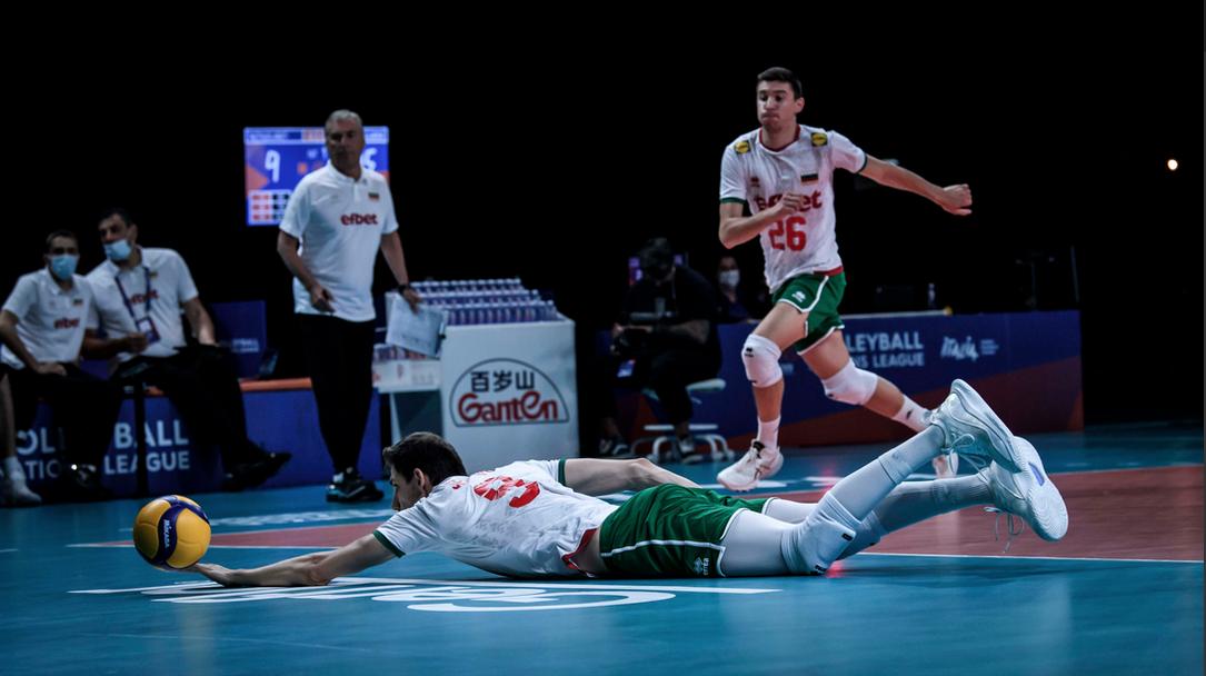Лига на нациите: България - Нидерландия 3:2 🏐