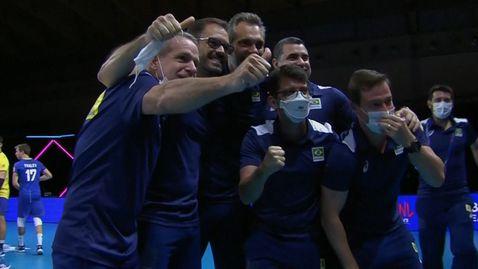 Бразилия не остави шансове на Полша в Лигата на нациите