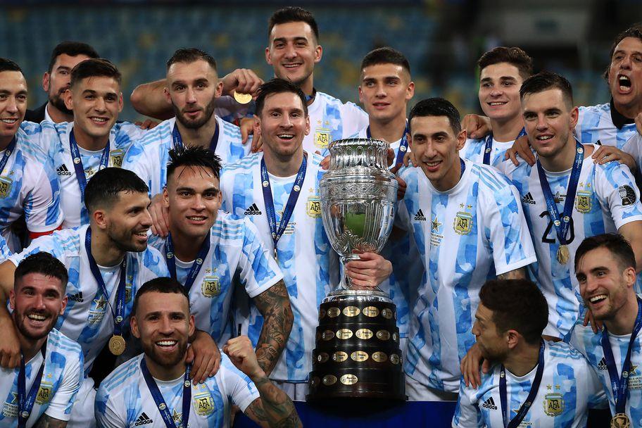 Аржентина - Бразилия 1:0