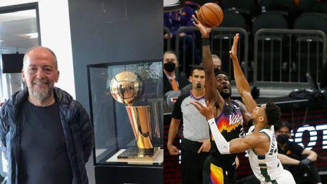 Мнението на доц. д-р Ефрем Ефремов: Пръстен и MVP на Финалите ще са достоен завършек за Крис Пол