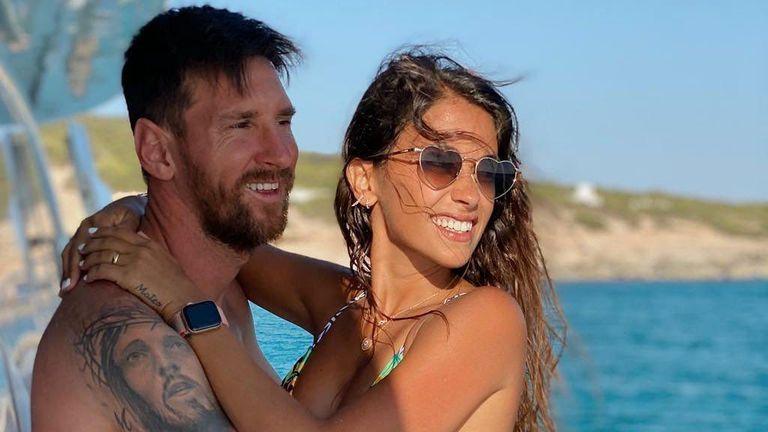 Антонела и Меси събраха погледите след успеха на Копа Америка