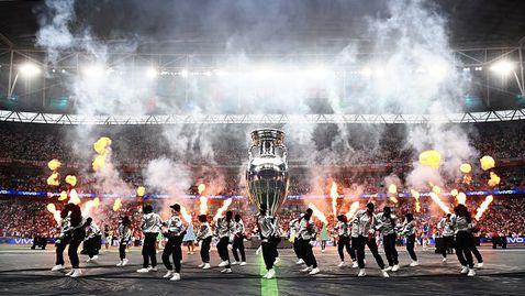 Страхотно шоу преди финала на Евро 2020