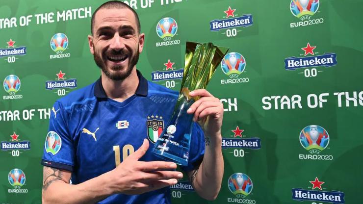 Леонардо Бонучи заслужи приза за Играч на мача