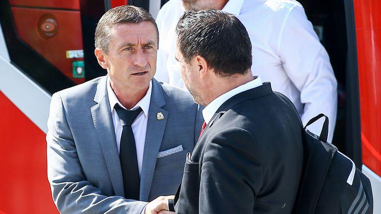 """Нанков: Похвала за Хебър, че се съгласи да играе на """"Армията"""", дано влязат в efbet Лига"""