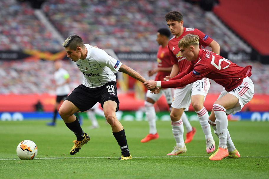 Манчестър Юнайтед - ЛАСК 2:1