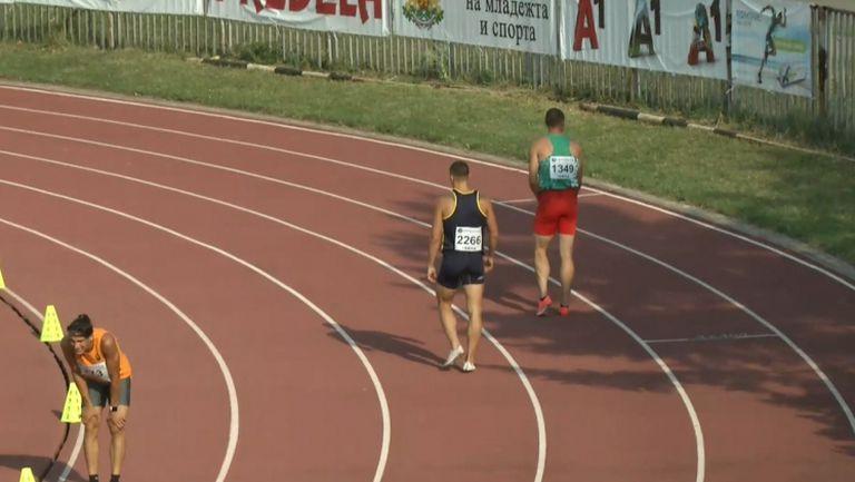 "Светлин Иванов спечели спринта на 200 метра на ""Нови звезди"""