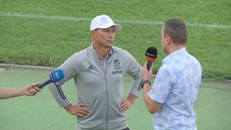 """Балъков: Камбуров не е """"top fit"""", предстои ни исторически мач"""