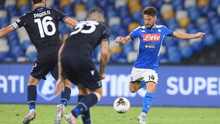 Имобиле изравни рекорд, но Лацио загуби от Наполи