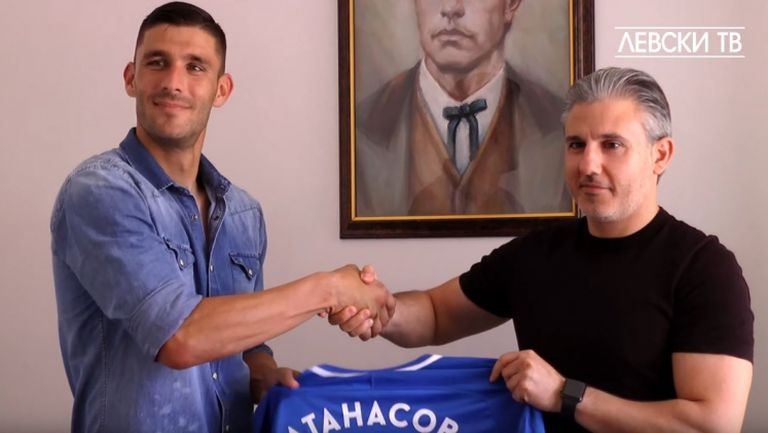 Живко Атанасов: Трансферът в Левски е сбъдната мечта