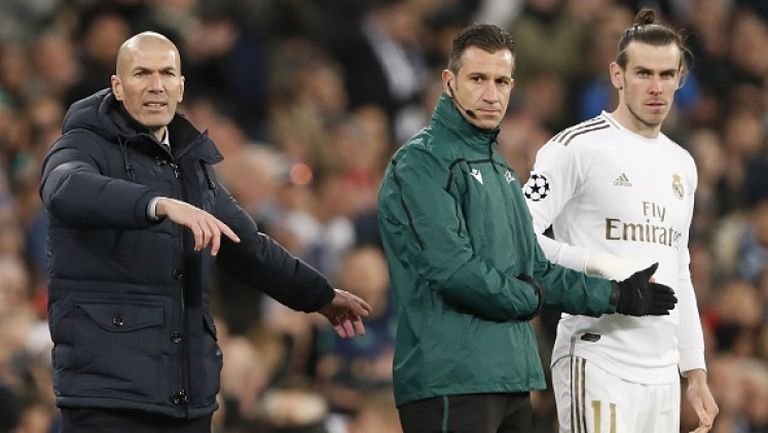 Зидан извади Гарет Бейл от групата за мача с Манчестър Сити
