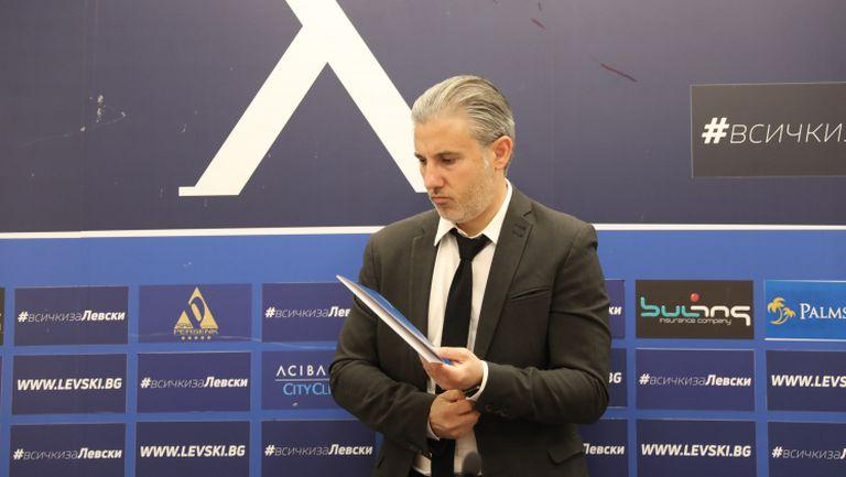 Павел Колев: Имаме конкретна оферта само за един футболист