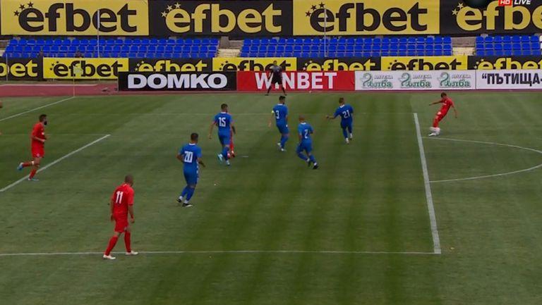 Коварен рикошет не остави шансове на Орлинов и Арда поведе с 2:0 на Монтана