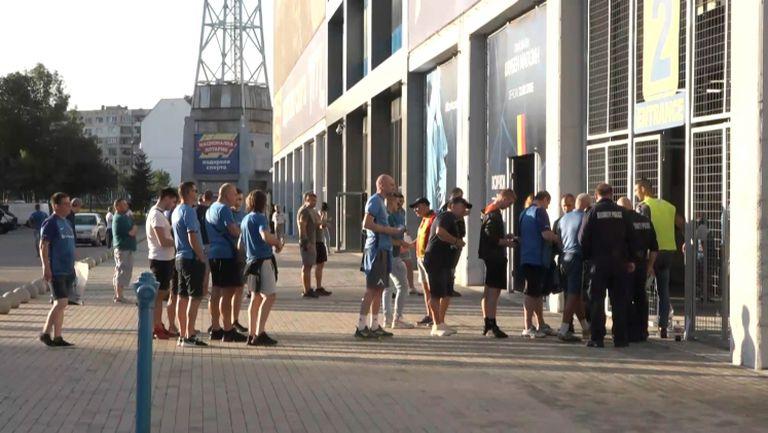Феновете на Левски се събират за първия мач от новия сезон срещу Берое