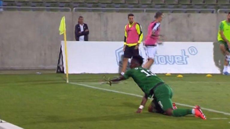 Чибота разстреля Стергиакис и направи резултата 2:0 за Лудогорец