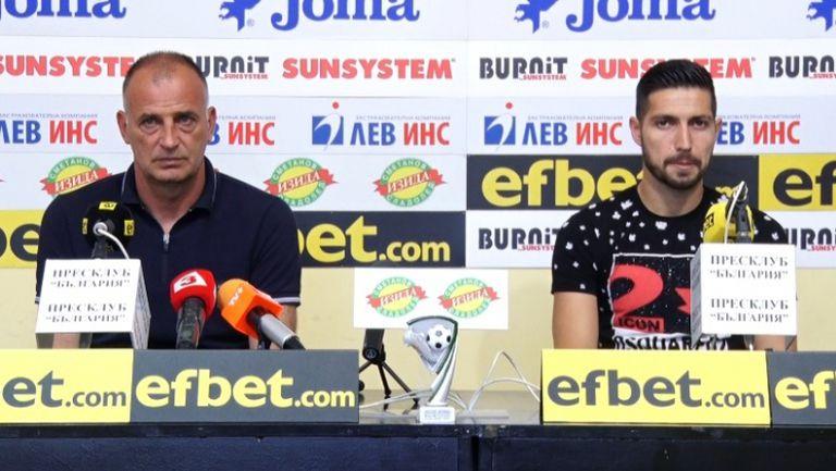 Антони Здравков и Даниел Генов с коментар за целите на Ботев (Враца) през сезона