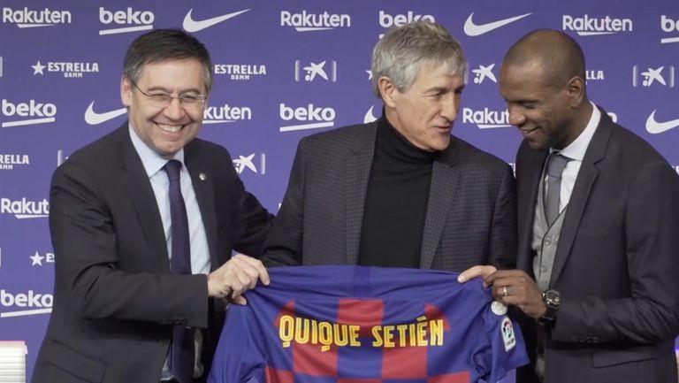 Президентът на Барселона потвърдил за уволнението на Сетиен
