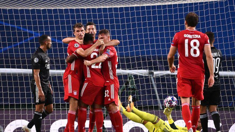 Лион - Байерн (Мюнхен) 0:3