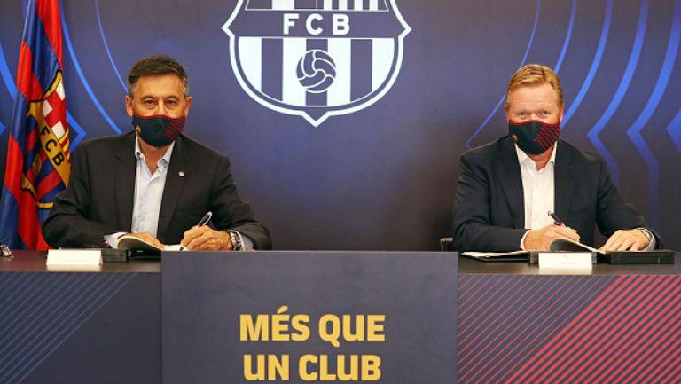 Бартомеу приветства Куман начело на Барселона