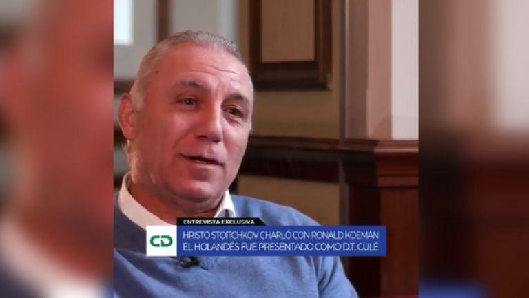 Стоичков изпревари всички за интервю с Куман