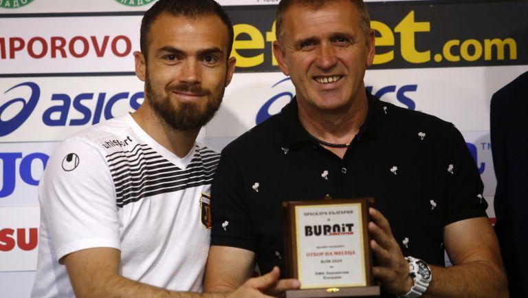 Локомотив (Пловдив) е отбор на месец юли