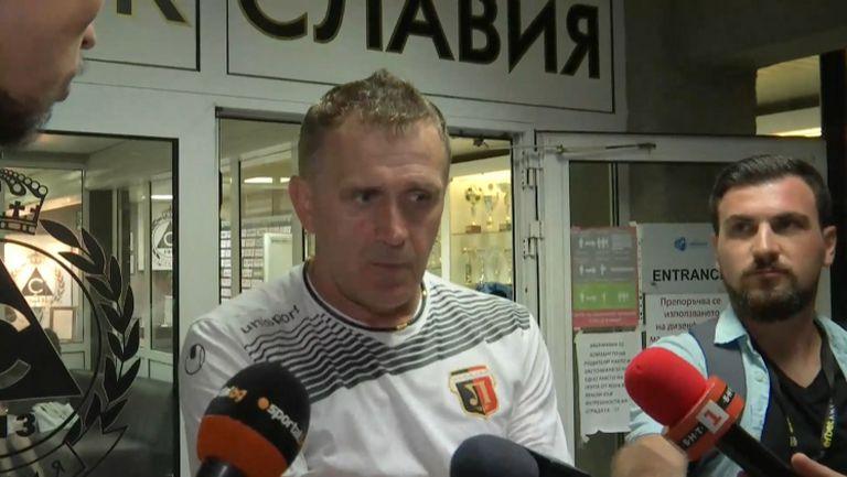 Бруно Акрапович: Това е Локомотив, 100% желание