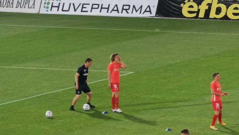 Божидар Краев ще играе срещу Лудогорец в Разград