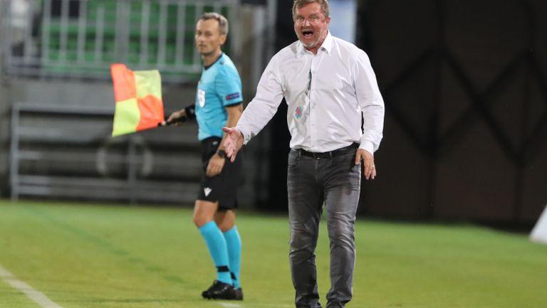 Павел Върба: Отбелязаха ни точно, когато имахме подем в играта