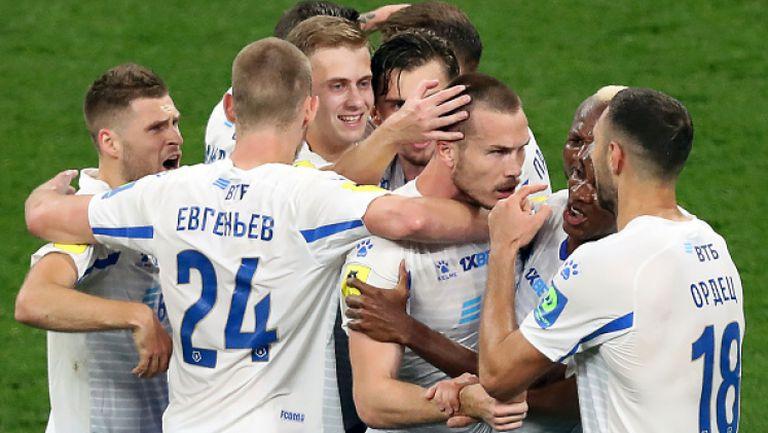 Динамо (Москва) - Зенит 1:0