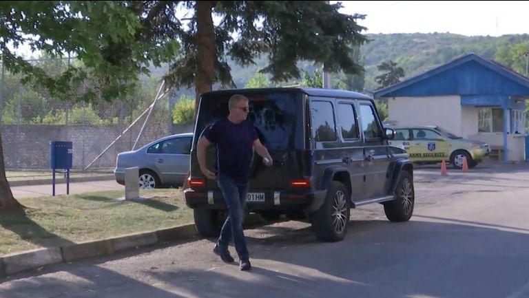 Наско Сираков пристигна в Монтана, за да наблюдава мача на Левски