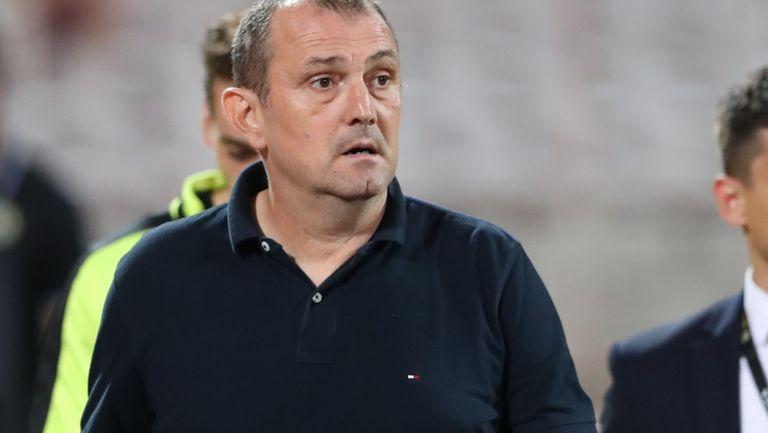 Загорчич: С оглед на това, с което разполагаме, изиграхме добър мач