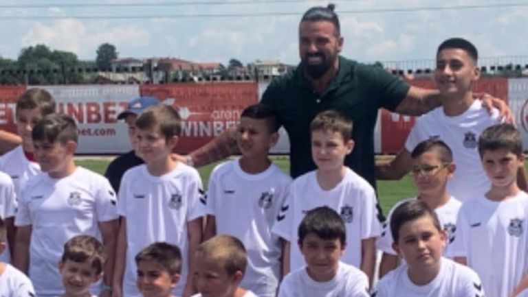 Благо Георгиев откри своята футболна академия