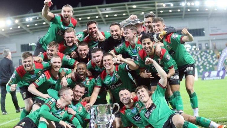 Гленторан спечели Купата на Северна Ирландия и ще играе в Лига Европа