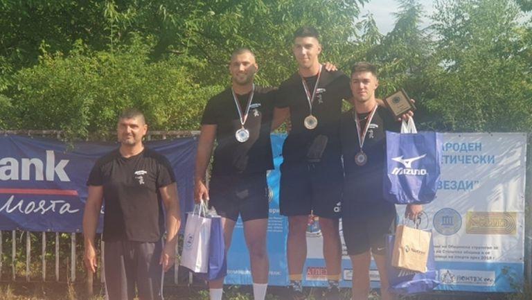 Валентин Андреев с личен рекорд при мъжете