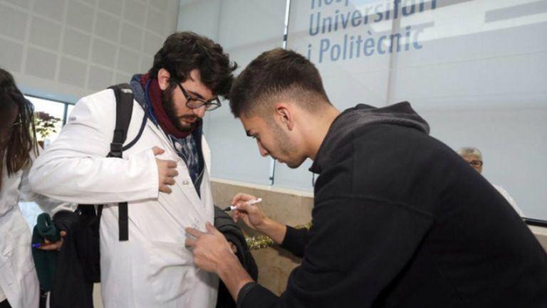 Феран Торес е в Барселона за прегледи преди трансфера