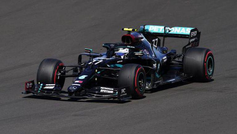 Ботас най-бърз след първата тренировка за Гран При на Великобритания