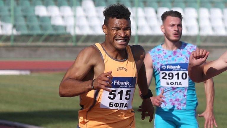 Отборът на Атлетик (София) е №1 на 4 по 100 метра при мъжете