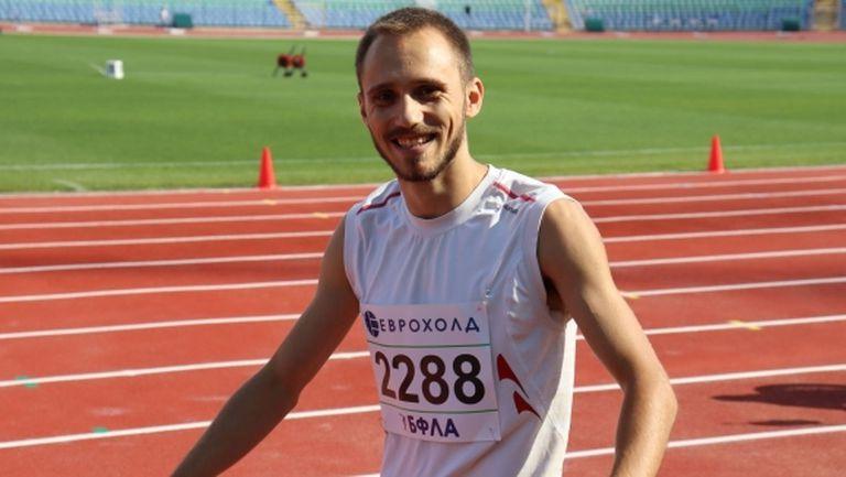 Борис Линков е новият шампион на България в скока на дължина
