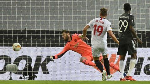 Властелинът на Лига Европа Севиля шокира Манчестър Юнайтед и е на финал (видео)