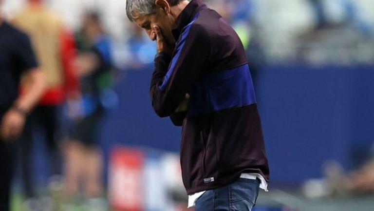 Президентът на Барселона обявил, че Сетиен е уволнен