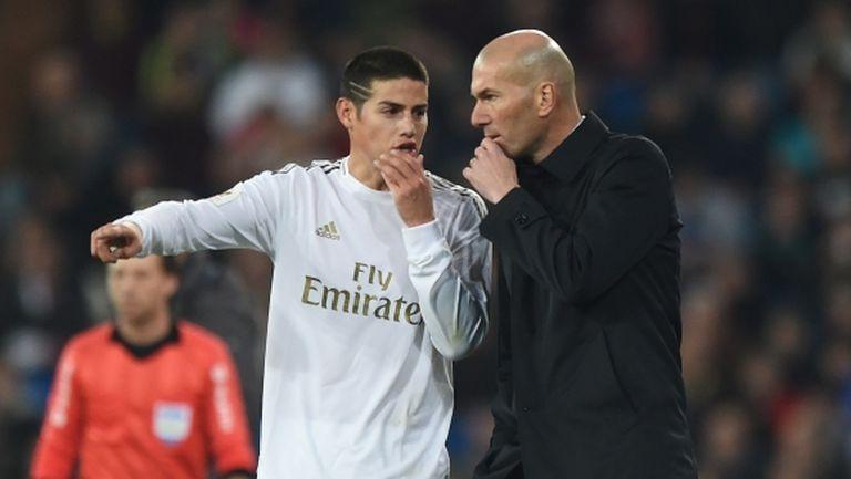 Хамес Родригес е твърдо решен да напусне Мадрид